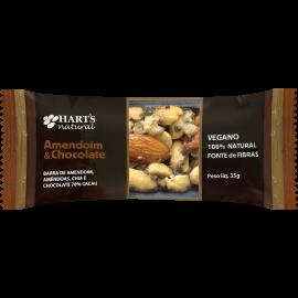 Barra de Nuts Amendoim e Chocolate Hart's Natural