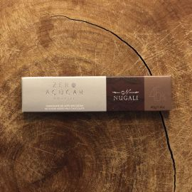 Tablete de chocolate ao leite zero açúcar 40g - Nugali