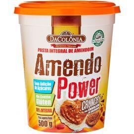 Pasta De Amendoim AmendoPower crocante 500g - DaColonia