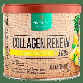 COLLAGEN RENEW ABACAXI E HORTELÃ 300G - NUTRIFY
