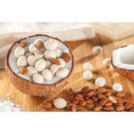 Drageado de amêndoa com chocolate branco ao leite de coco 100g - Veganutris