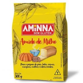 Amido de milho s/ glúten 300g - Aminna