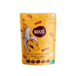 BRAZÔ · Biscoito proteico tapioca sabor banana e canela - 30g