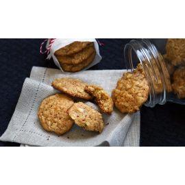 Biscoito de óleo de coco com castanha 100g
