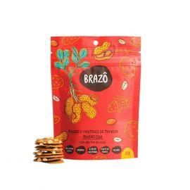 BRAZÔ · Biscoito proteico tapioca sabor amendoim 30g