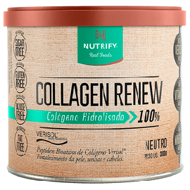 Colágeno Hidrolisado Renew sabor neutro 300g - Nutrify