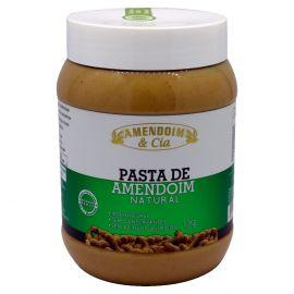 Pasta De Amendoim Natural 1,100g - Amendoim E Cia