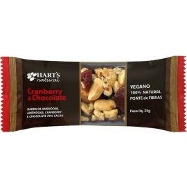 Barra de Nuts Cranberry e Chocolate