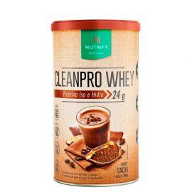 Proteína CleanPro Whey sabor cacau 450g - Nutrify