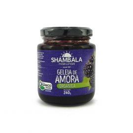 Geleia de amora orgânica 240g - Shambala