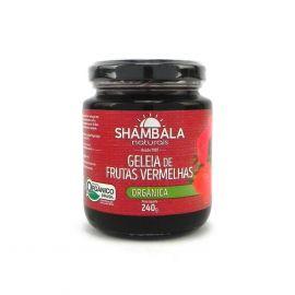 Geleia de frutas vermelhas orgânica 240g - Shambala