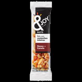 Barra Mixed Nuts com nozes e canela