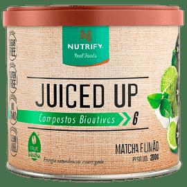 Juiced Up Matchá sabor limão - Nutrify