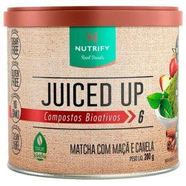 Juiced Up Matchá sabor maçã e canela - Nutrify