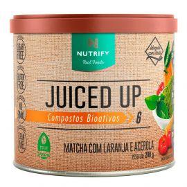 Juiced Up Matchá sabor laranja e acerola - Nutrify