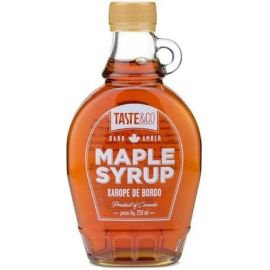 Xarope De Bordo Maple Syrup 250ml 100% Puro - Taste&Co