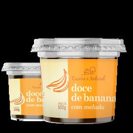 Doce de banana com melado 500g - Caseiro&Natural