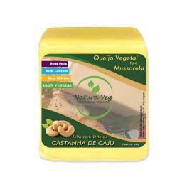 Natura veg · Queijo vegano tipo mussarela de castanha de cajú