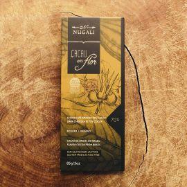 Chocolate cacau em flor 70% cacau 85g - Nugali