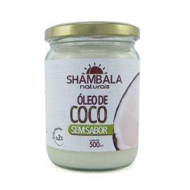 Óleo de coco sem sabor 500ml - Shambala