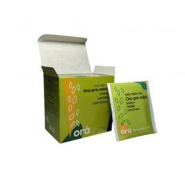 Chá misto de ora-pro-nóbis 10 sachês sabor limão, hortelã e cravo - Orá