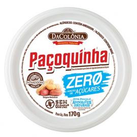 Paçoca Rolha Zero Açúcar unidade 18g - DaColônia