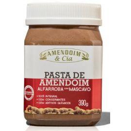 Pasta De Amendoim com alfarroba e açúcar mascavo 390g - Amendoim E Cia