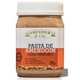 Pasta De Amendoim com açúcar mascavo 390g - Amendoim E Cia