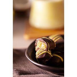 Chocoduo sabor Piña Colada com chocolate 70% 100g - Veganutris