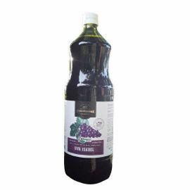 Suco de uva isabel integral orgânico 1l - Sítio do Palmará