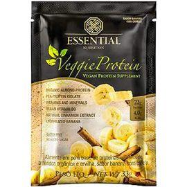 Veggie protein banana com canela sachê com 22g - Essential