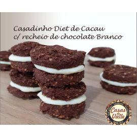 Casadinho diet de cacau com recheio de chocolate 100g